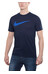 Nike Chest Swoosh Løbe T-shirt blå
